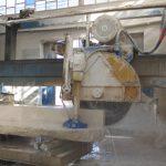 برش و فرآوری سنگ در کارخانه