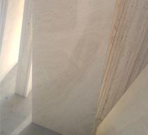 سنگ تراورتن عباس آباد سفید بی موج