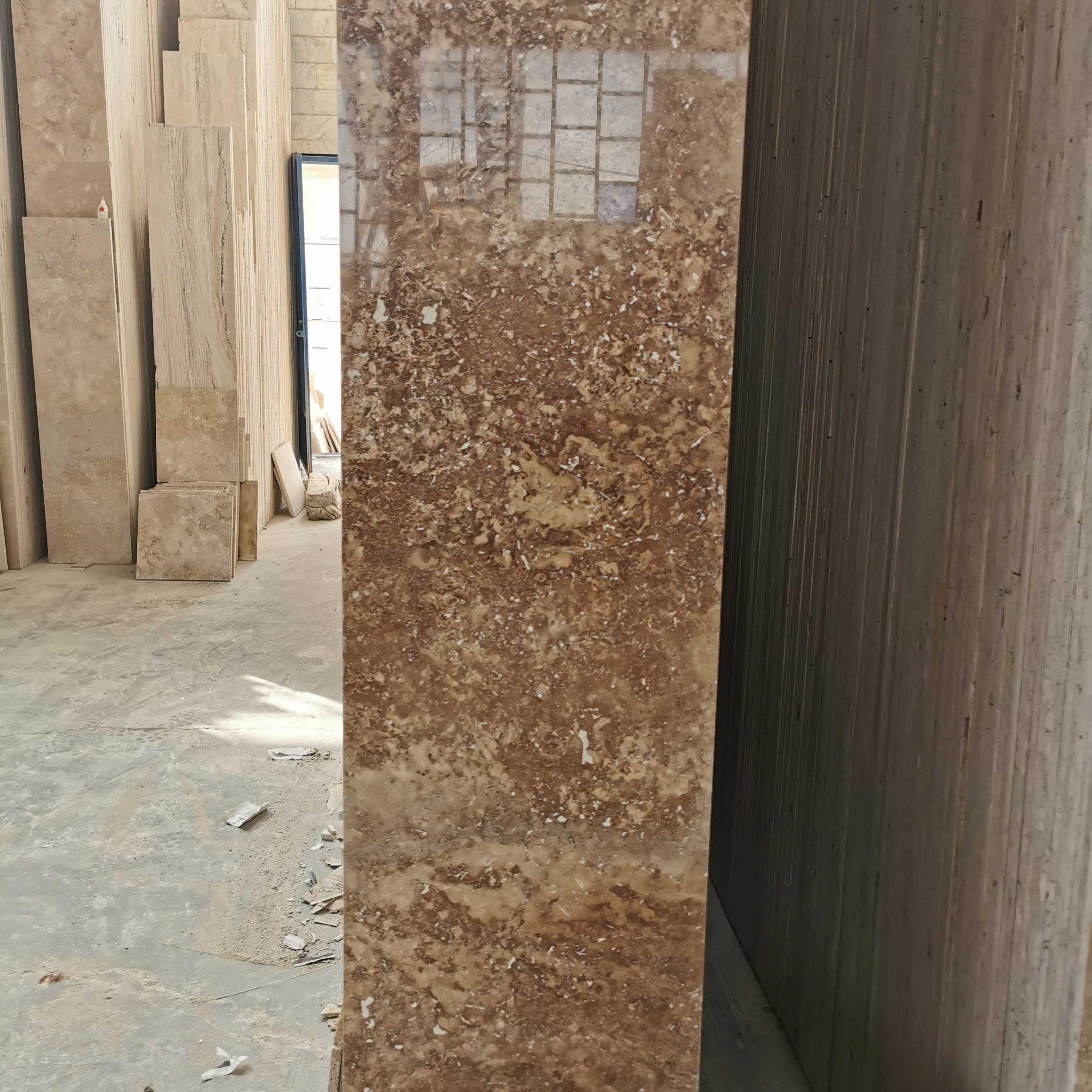 سنگ تراورتن محلات شکلاتی – سنگ ساختمانی – سنگ تراورتن – خرید سنگ ساختمانی – قیمت سنگ ساختمانی – خرید سنگ تراورتن – سنگ نما – گالری 1